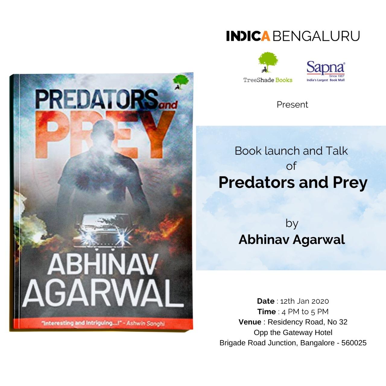 Indica Bengaluru Abhinav Agarwal