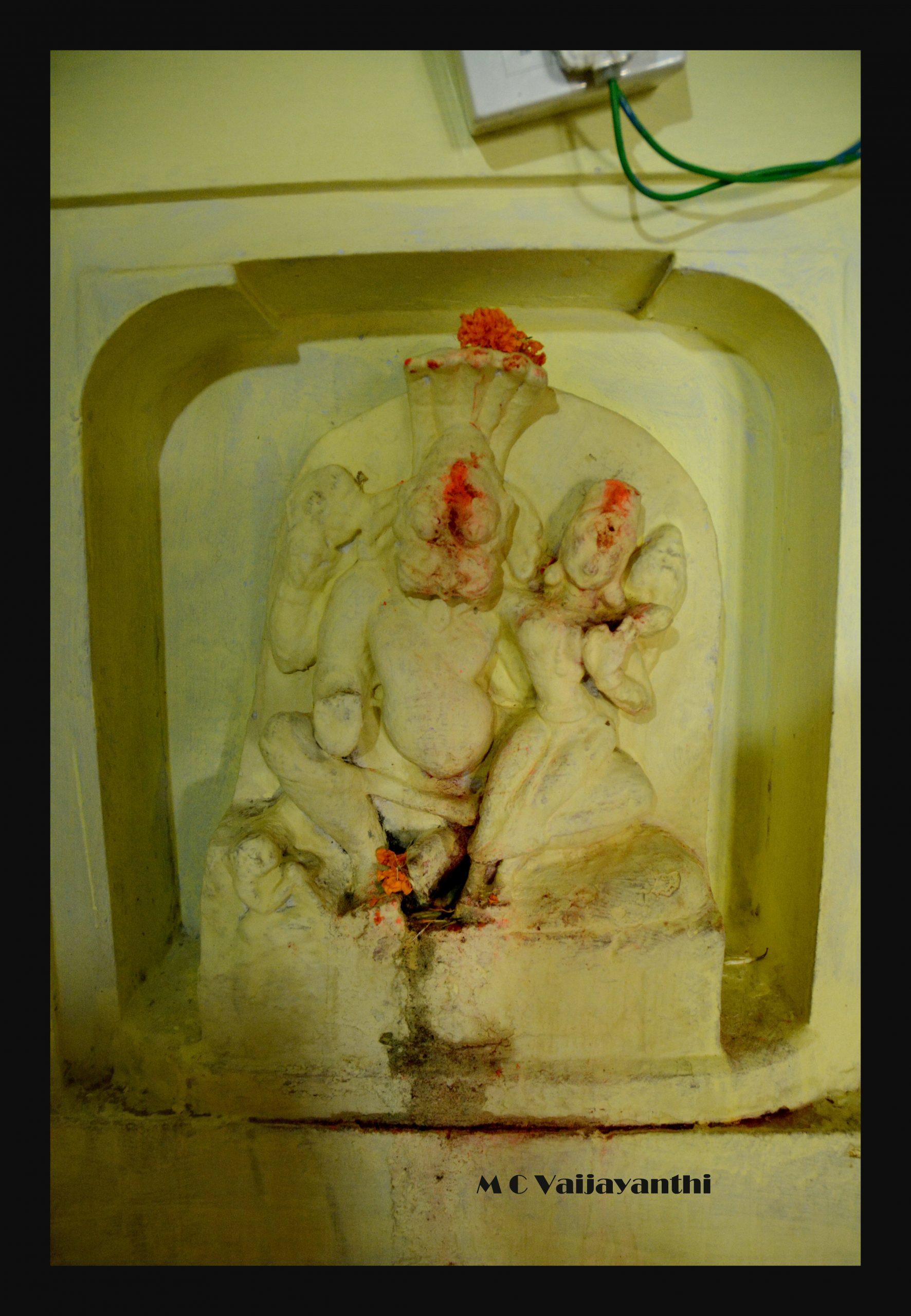 Narasimha in Adi Keshava