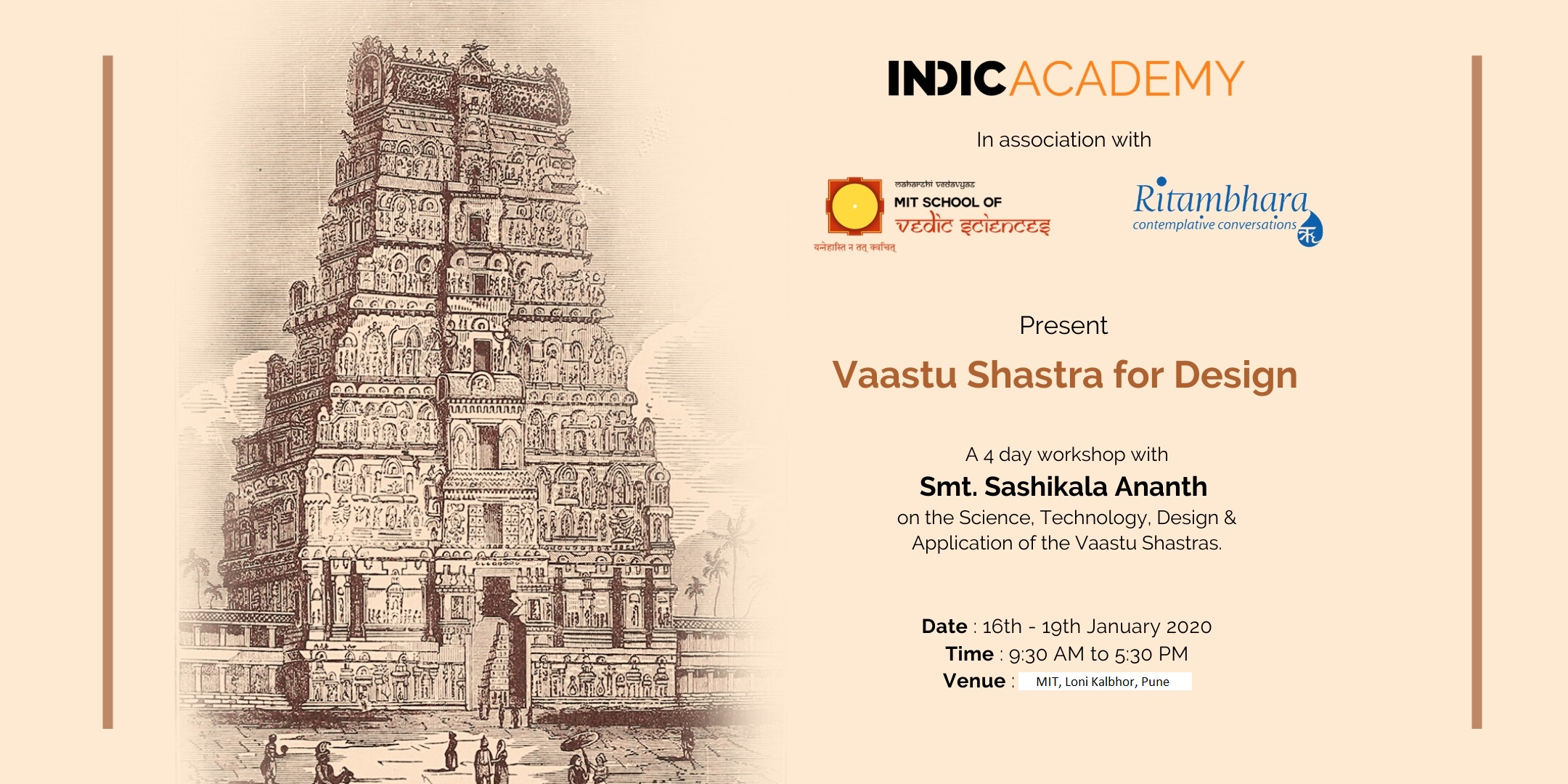 Pune Workshop on Vaastu Shastra
