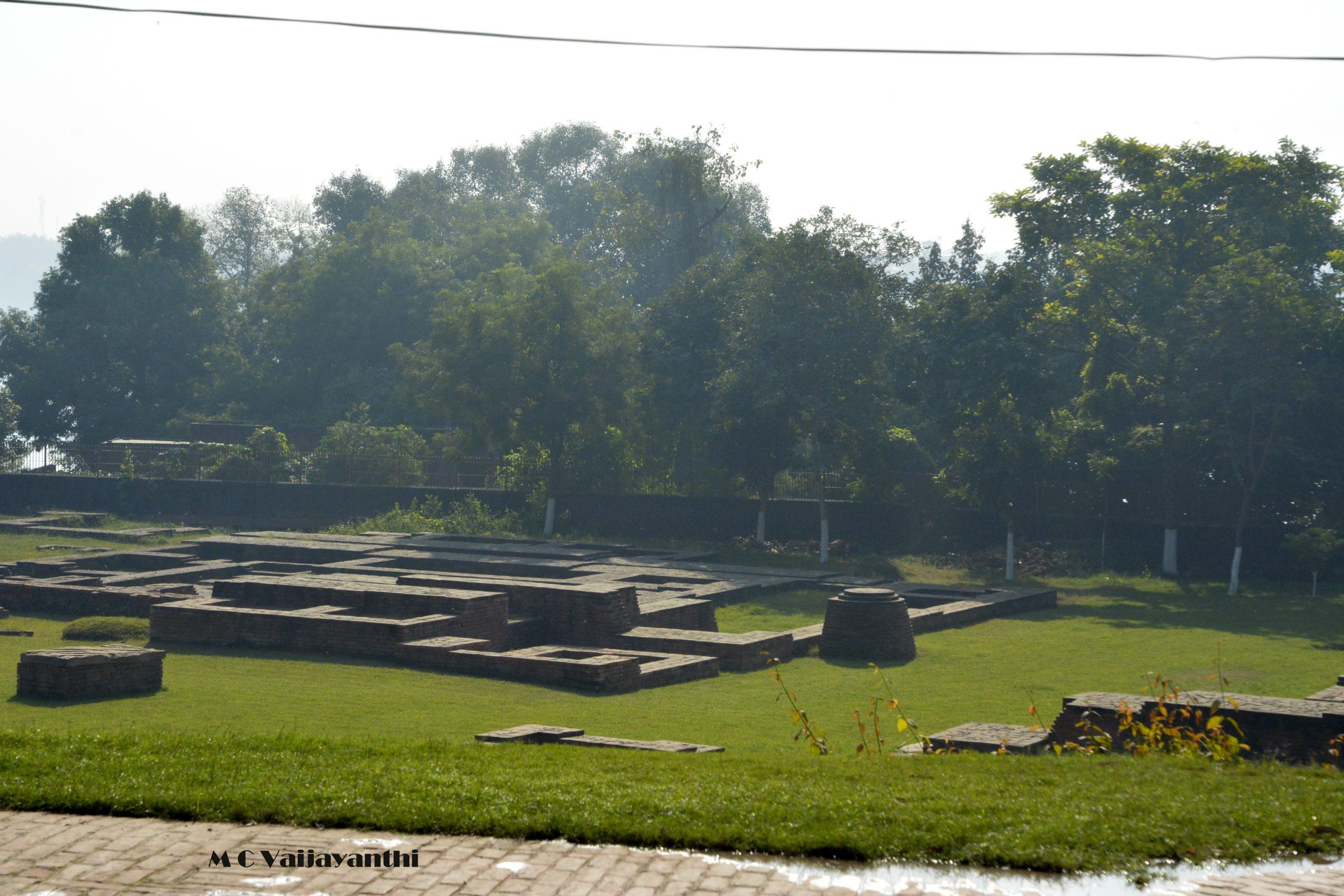 Ruins of old Kashi