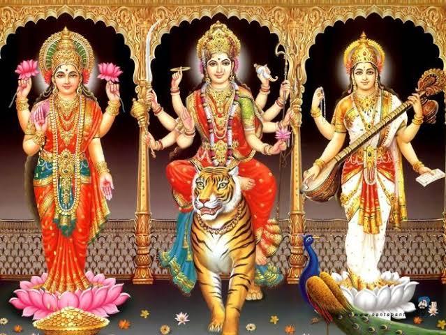 Vishnu's three wives