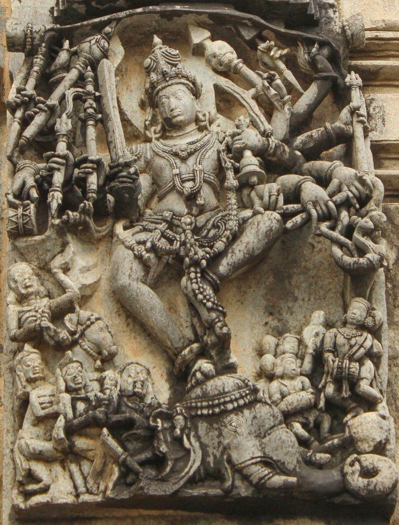 Gajasamharamurthy, Chennakeshava, Belur