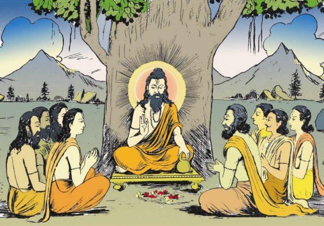 Hinduism worshipping