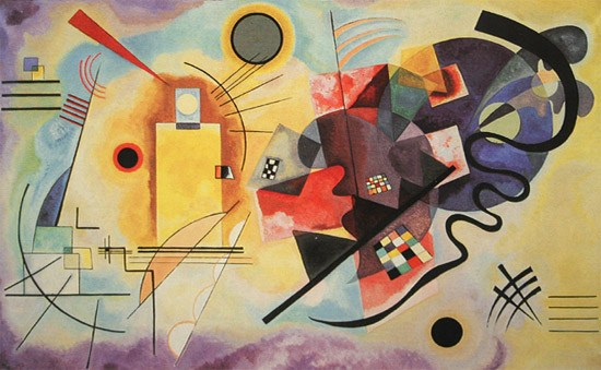 Yellow, Red and Blue - Wassily Kandinsky