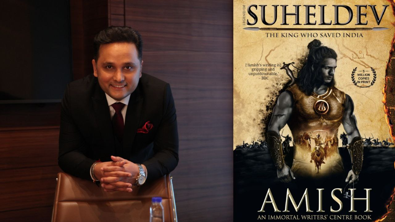 "Conversation with Amish Tripathi ""Legend of Suheldev: The King Who Saved India"""